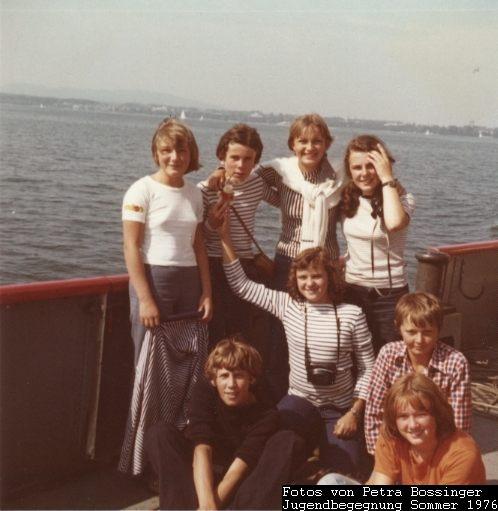 Jugendbegegnung Sommer 1976