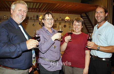 Pressefoto Weinprobe 2009 (c) Wilhelm Schmid